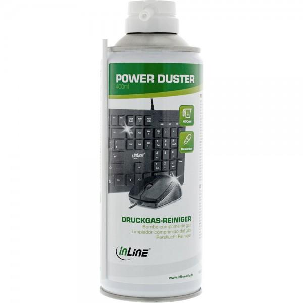 InLine® Druckluft-Reiniger, Spraydose 400ml