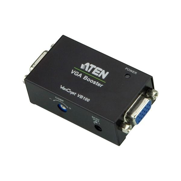 ATEN VB100 Video-Booster, VGA-Verstärker mit LED-Anzeige