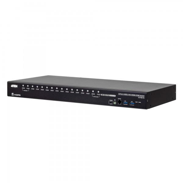 ATEN CS18216 KVM-Switch 16-fach, 4K HDMI, USB 3.0, Audio