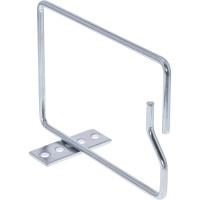 InLine® Kabelbügel, Metall, verzinkt, Öffnung kurze Seite, 140x100mm