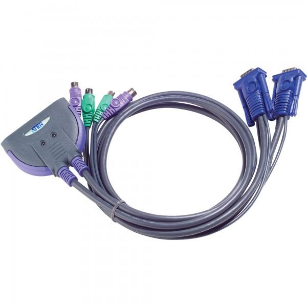 ATEN CS62S KVM Switch 2-fach, VGA, PS/2