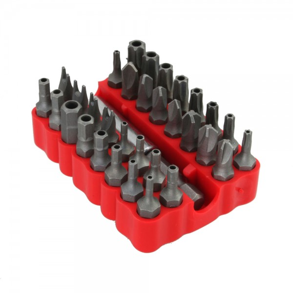InLine® Spezial Bitsatz, für Schraubendreher, 33-teilig