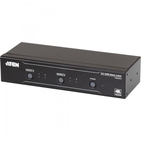 ATEN VM0202H HDMI Matrix Switch 2x2 4K