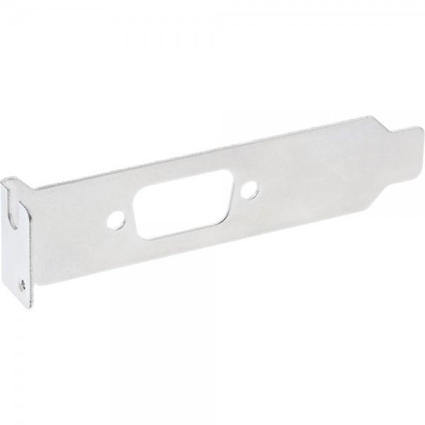 InLine® Slotblech, mit 9-pol Sub D Aussparung, Low Profile