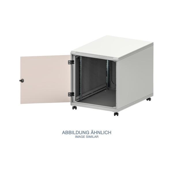 """Triton RCA-12-A68-CAX-A1 19"""" Standschrank 12HE mit Rollen, 600x800mm, grau"""