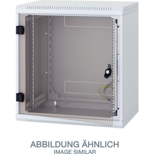 "Triton RBA-18-AS5-CAX-A1 19"" Wandschrank 18HE, 600x495mm, einteilig, grau"